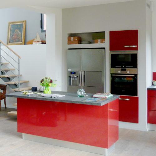 cuisine-rouge-extension-maison
