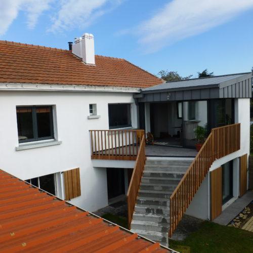 maison surelevation nantes agence architecture