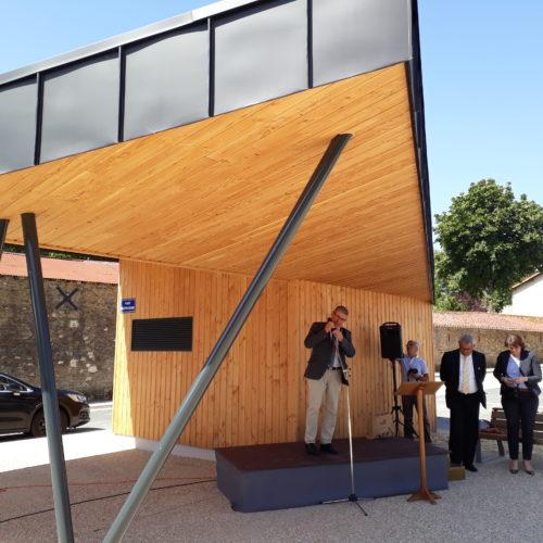 kiosque le boupere creation architecturale publique