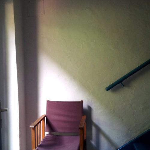 vue sur entree escalier