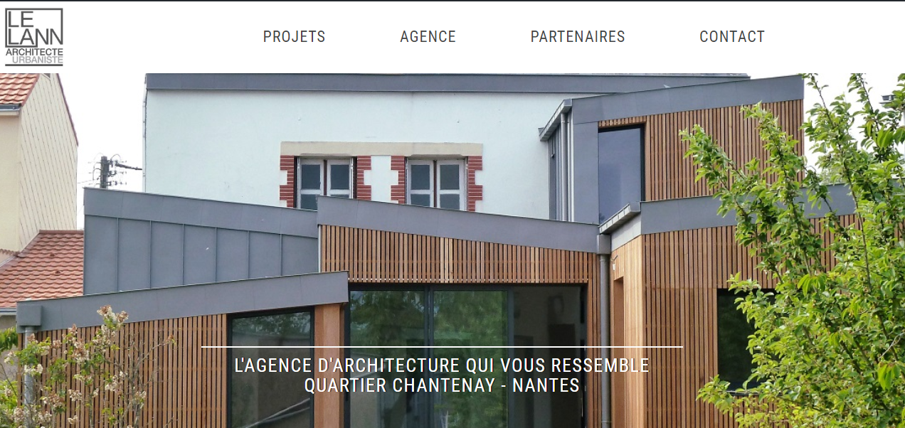 page d-d-accueil-site-internet-le-lann-architecte