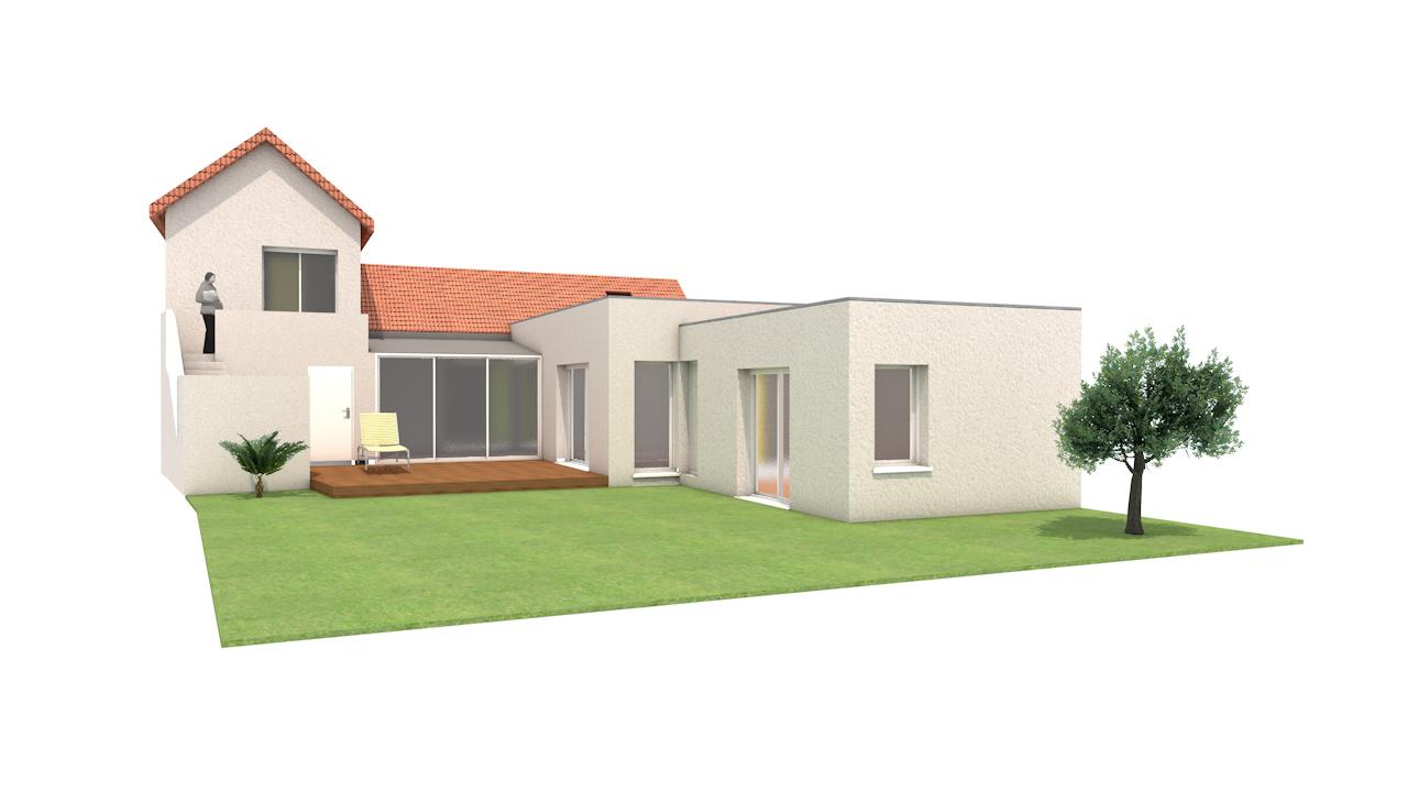 piece graphique maison renovation
