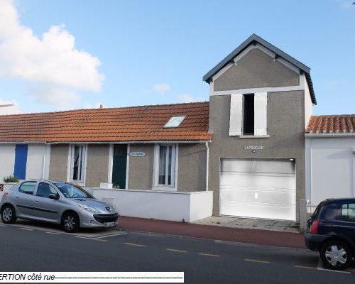maison actuelle avec projection de renovation