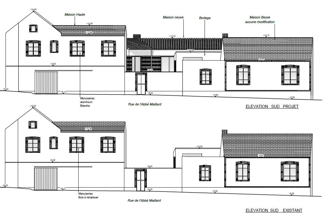 maison en construction et extension