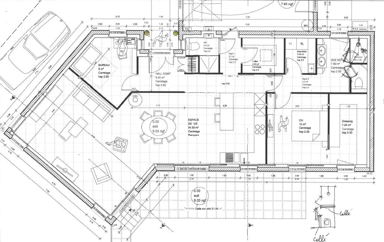 plan architecte complet