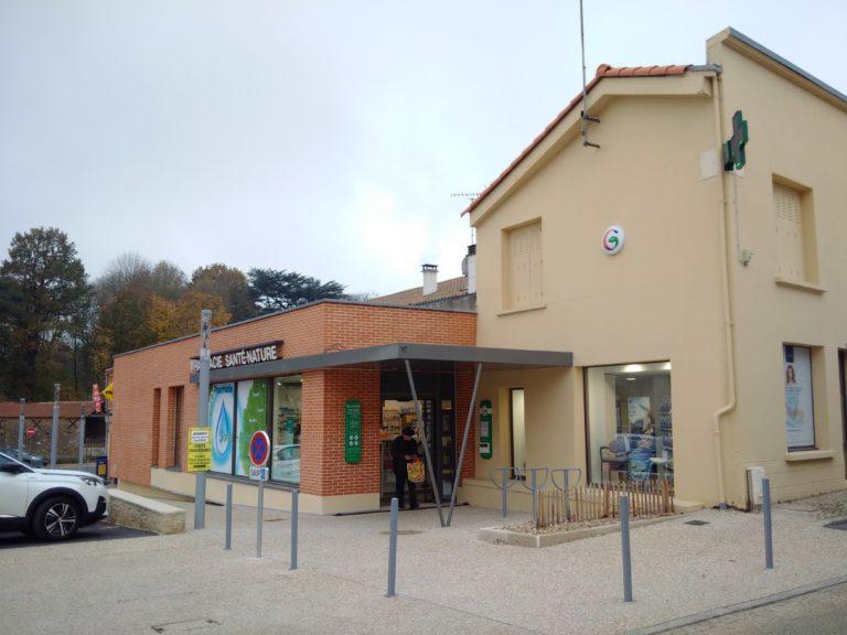 pharmacie architecture